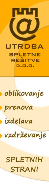 Utrdba.eu :: izdelava spletnih strani